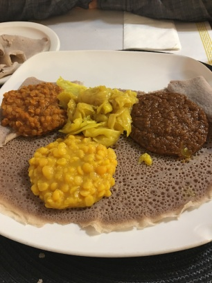 Ethiopian Dinner with B Rog!